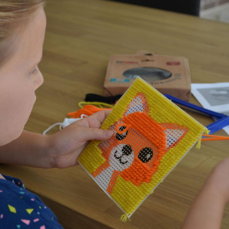 Daju Fox Tapestry Kit - Craft Set for Kids