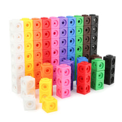 Daju Linking Maths Cubes - 100 pieces