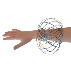 Arm Slinky - Flow Ring - 3D Kinetic Ring