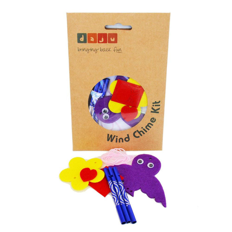 Daju Wind Chime – Bird – Craft Kit for Kids