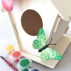 Daju Build and Decorate a Birdhouse – Craft Set for Kids - Daju Toys