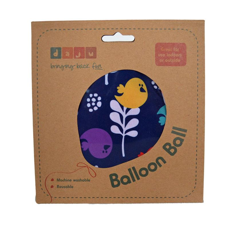 Daju Balloon Ball - Bouncy Toddler Ball in Birds Design