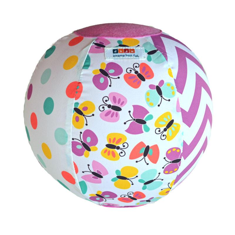 Daju Balloon Ball - Bouncy Toddler Ball in Butterlies Design - Daju Toys