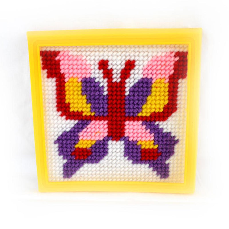 Daju Butterfly Tapestry Kit - Craft Set for Kids