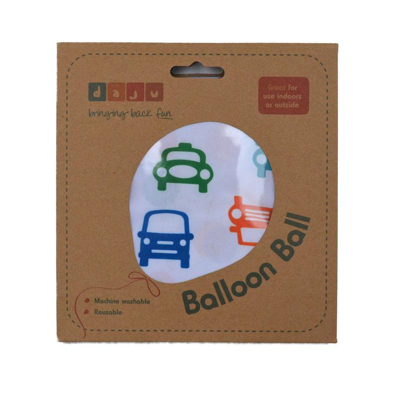 Daju Balloon Ball - Bouncy Toddler Ball in Cars Design - Daju Toys
