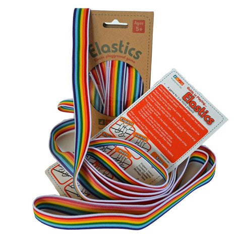 Elastics Bundle - 25 Sets of Rainbow Elastics