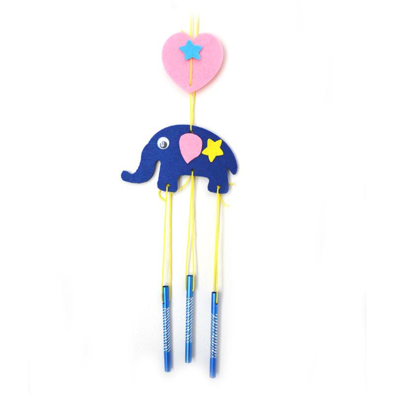Daju Wind Chime – Elephant – Craft Kit for Kids