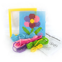 Daju Flower Tapestry Kit - Craft Set for Kids