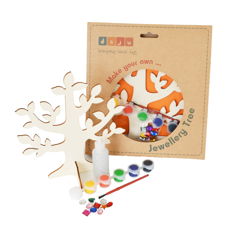 Daju Jewellery Tree Kit - Craft Set for Kids - Daju Toys