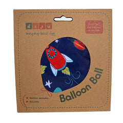 Daju Balloon Ball - Bouncy Toddler Ball in Rockets Design