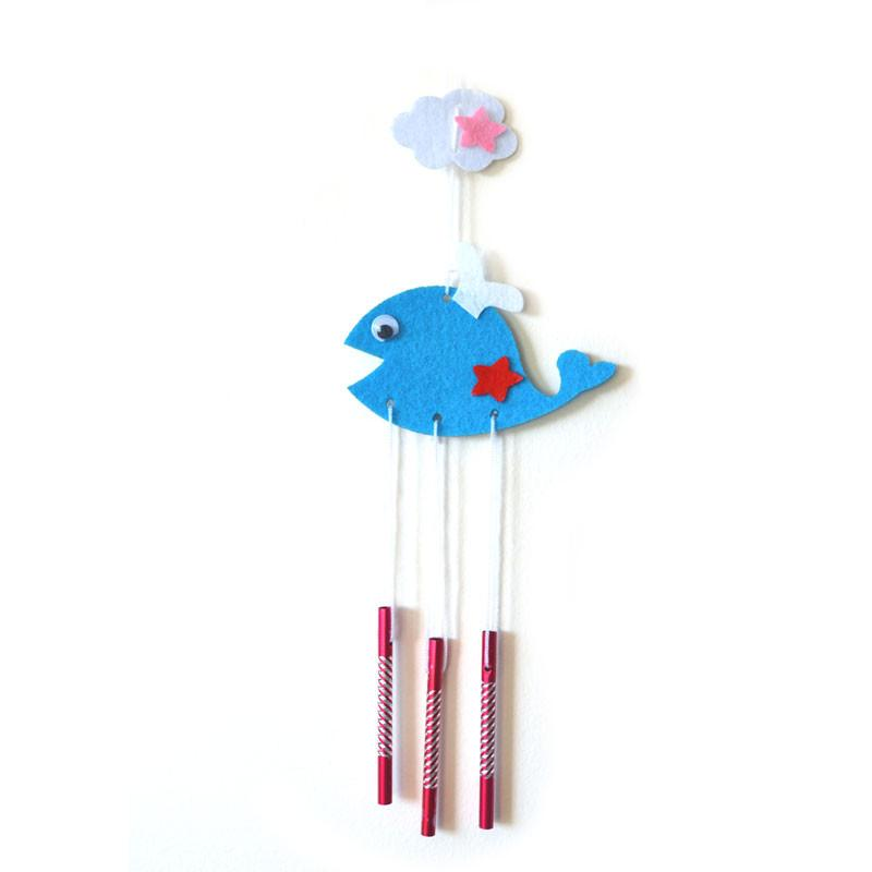 Daju Wind Chime – Whale – Craft Kit for Kids