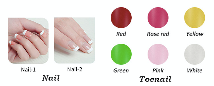 sex robot nail color options