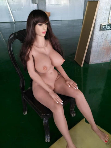 Hot milf with sex doll