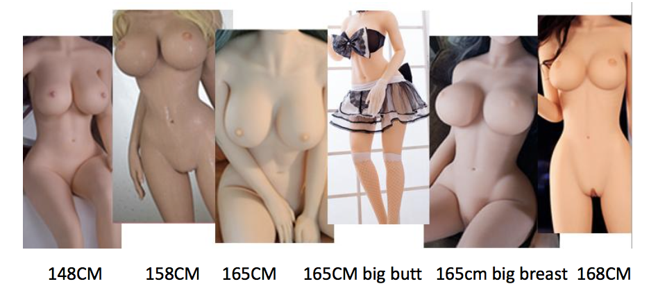 sex robot body types