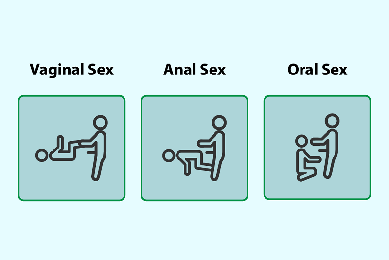 You can have vaginal, oral, and anal sex with a doll