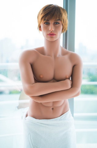 blonde male sex doll