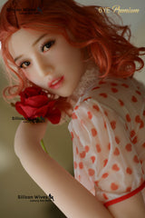 Rose: Muñeca sexual de pelo rojo pálido