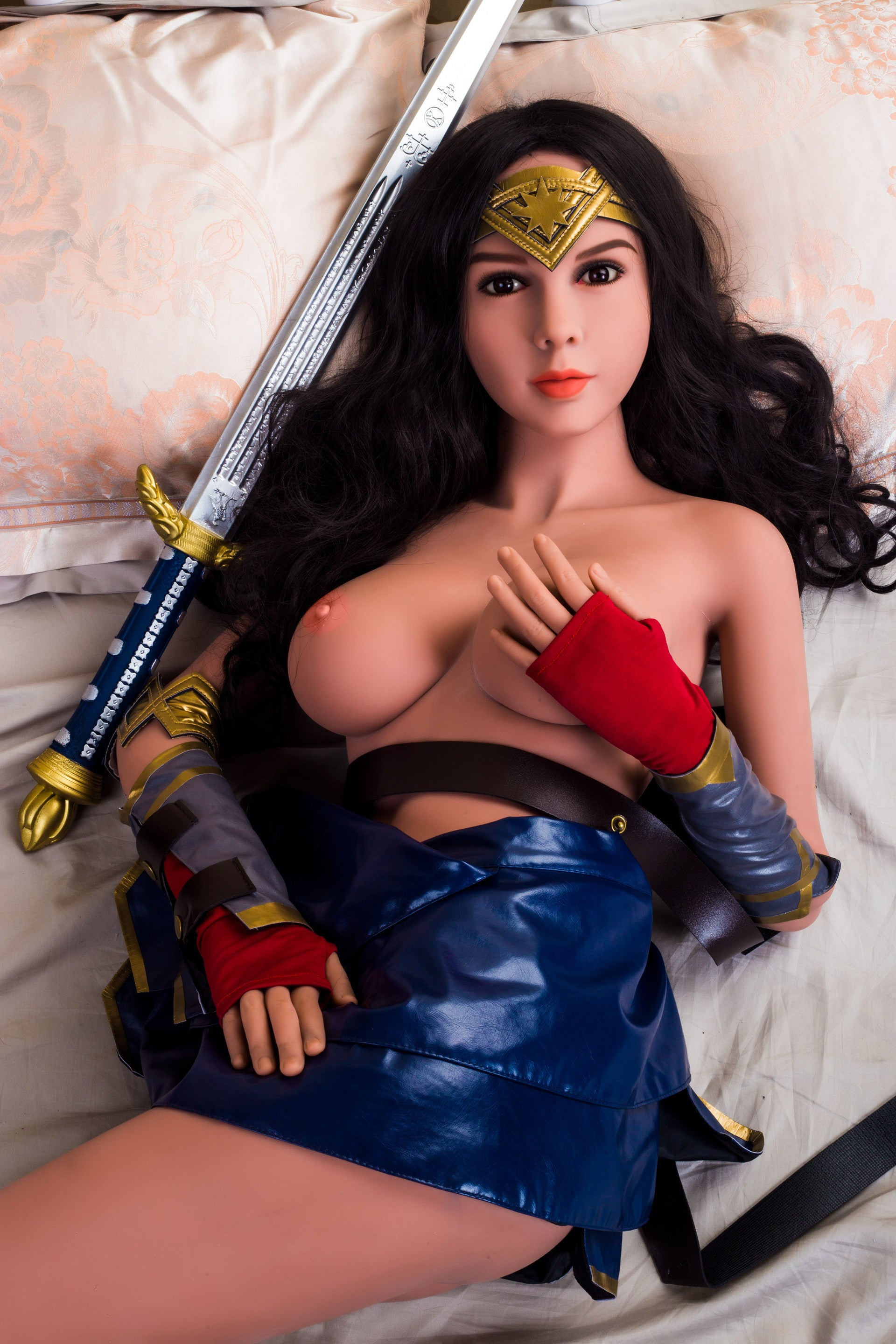 Wonder Woman Sex Doll Limited Special  Silicon Wives-2319