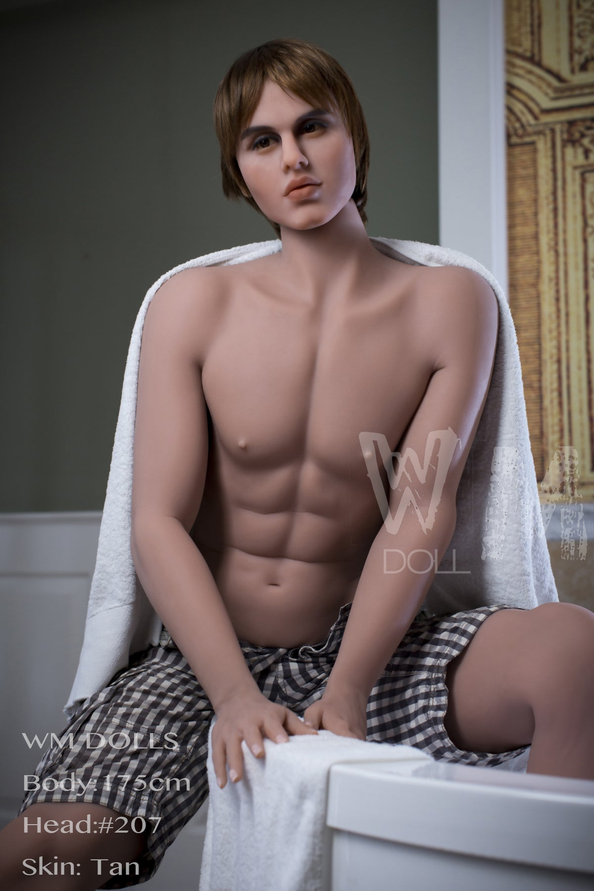 Tanner Tall Male Sex Doll  Silicon Wives-4912