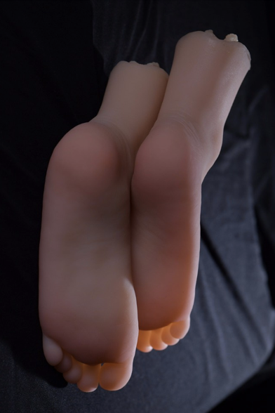 Realistic Silicone Feet with Vaginas