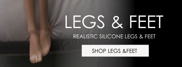 Silicone Sex Dolls Legs and Feet for sale