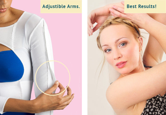 arm compression garment