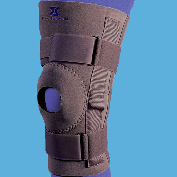 Neoprene Hinged Knee Sleeve - #1010