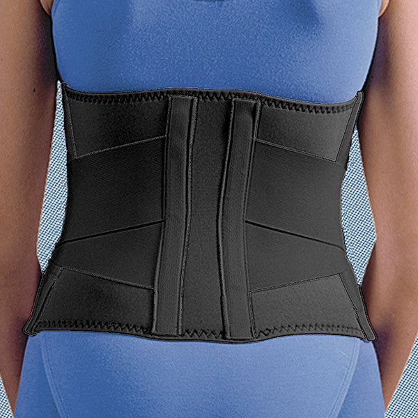 "9"" Neoprene Double Pull Back Support (#1021)"