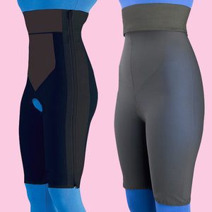 High Waist, Above Knee Garment - Contact Closure Package