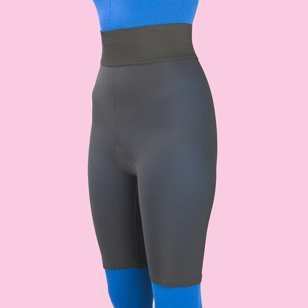 Compression Girdle Above Knee - 2nd Stage, Black (#2077)