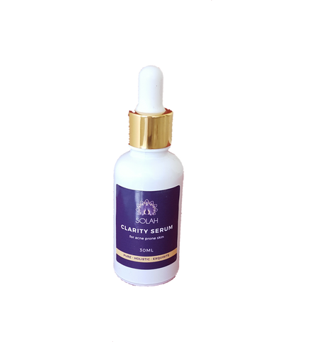 Clarity Serum; for acne prone skin