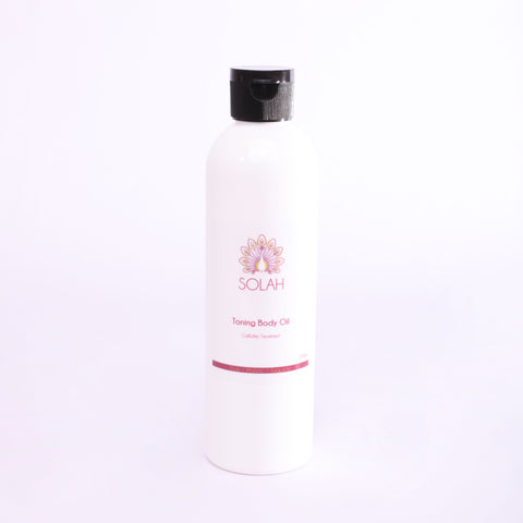 toning body oil cellulite treatment nourishing firming detoxing