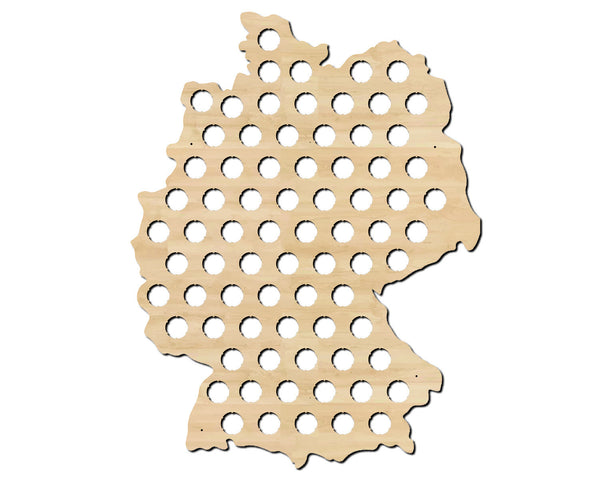 Germany Beer Cap Map