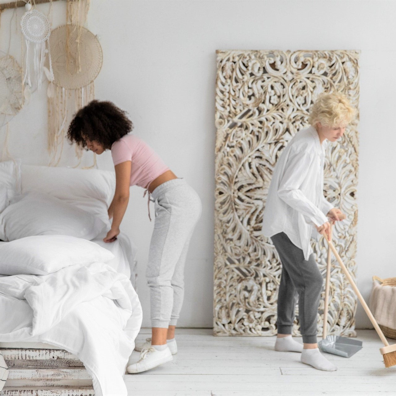 Spring cleaning to improve sleep