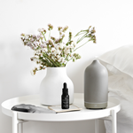 Ceramic Diffuser & Essential Oils Starter Kit - Stone Grey