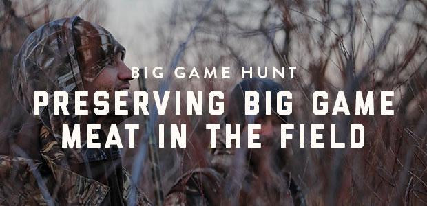 Big Game Hunt: Preserving Big Game Meat In the Field-Bison Coolers