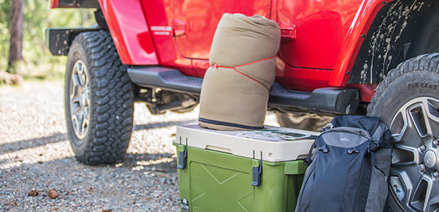 The Right Way to Pack a Cooler for Camping