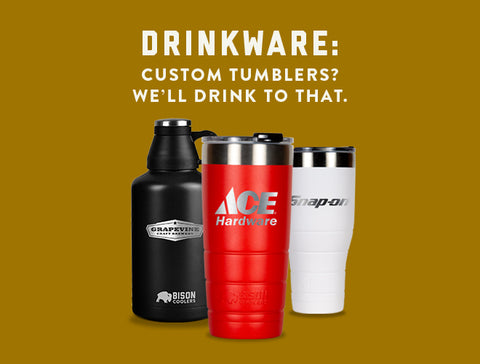 Drinkware Customization Options