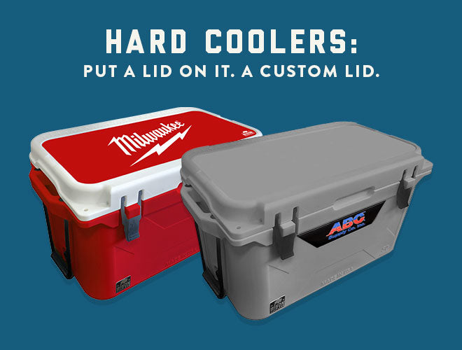 Hard Coolers with Customization Options
