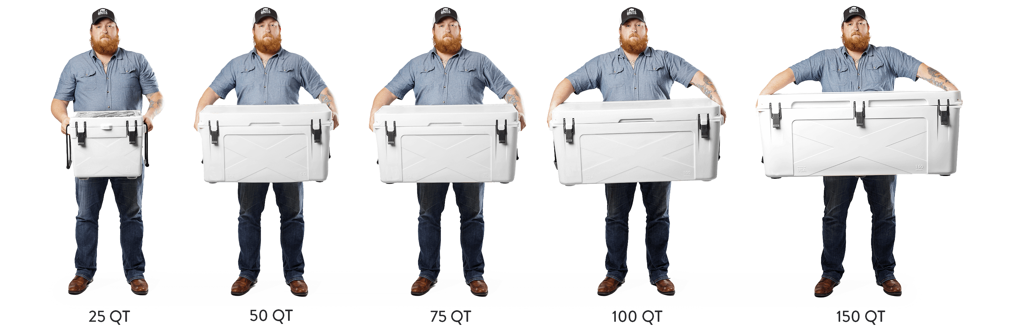 Truck Bed Size Chart >> Bison Coolers | Rotomolded Coolers| Best Ice Chests Coolers