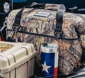 Bison 24 Can - Mossy Oak Camo SoftPak Cooler-Soft-sided Cooler-Bison Coolers-Mossy Oak Camo-Bison Coolers