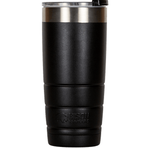 22 oz Bison Tumbler - Black
