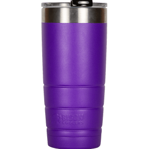 22 oz Bison Tumbler - Purple