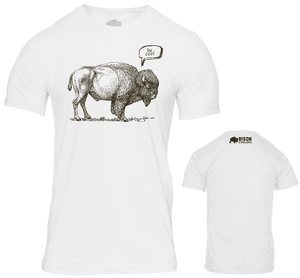 Premium T-Shirts | Outdoors Gear | Shop Bison's Clothing Line