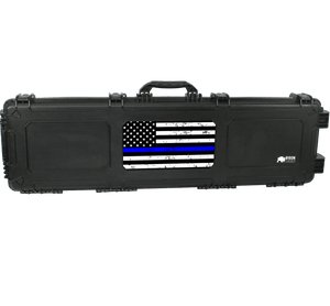 Bison 5317 Large Roller Hard Case - Thin Blue Line