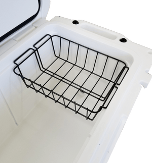 Bison's Wire Dry Goods Tray - American Made Cooler Tray. Bison's Wire Dry Goods Tray keeps your food fresh and most importantly, dry.  The American-made trays are perfect for camping trips, hunting trips or packed lunches.