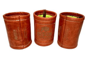 Bison Leather Can Cooler