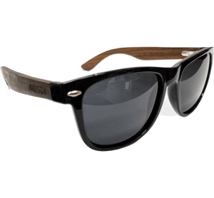 Bamboo Sunglasses with Polarized Lenses by Bison Coolers