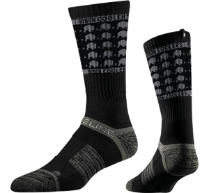 """Bison Stars"" Socks by Strideline"