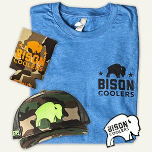 Bison Coolers - Field Staff Membership. Bison Coolers T-Shirts, Hats, and Gear
